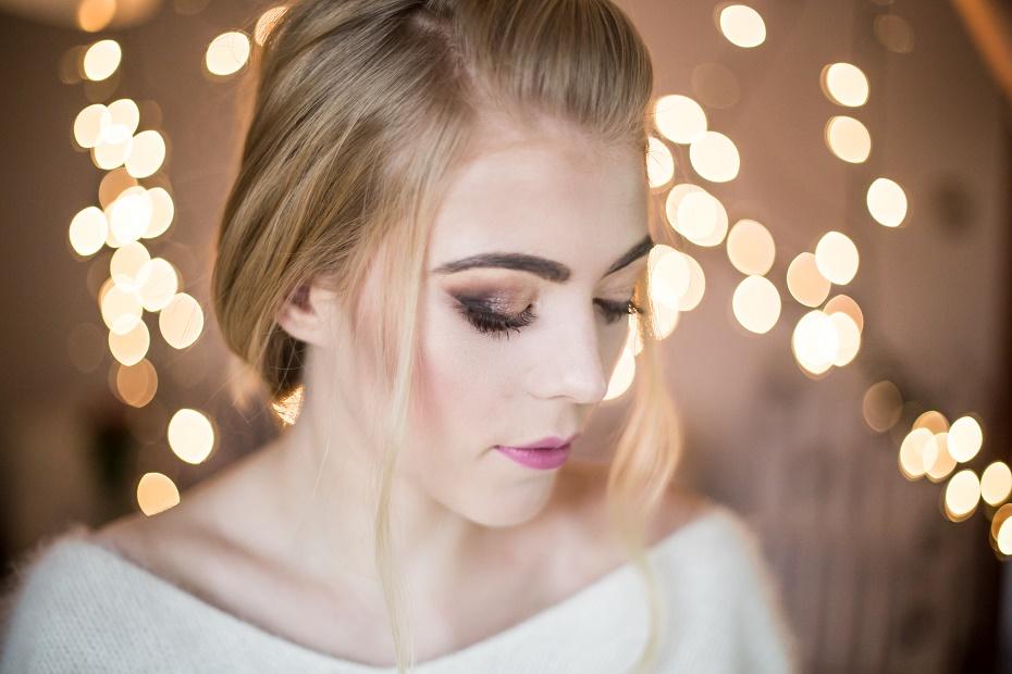 Wigilijny makeup