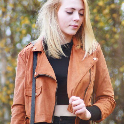 Outfit: Fringe jacket