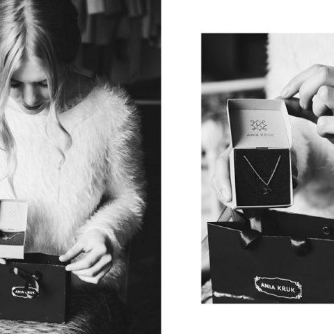 Minimalist jewelry by Ania Kruk