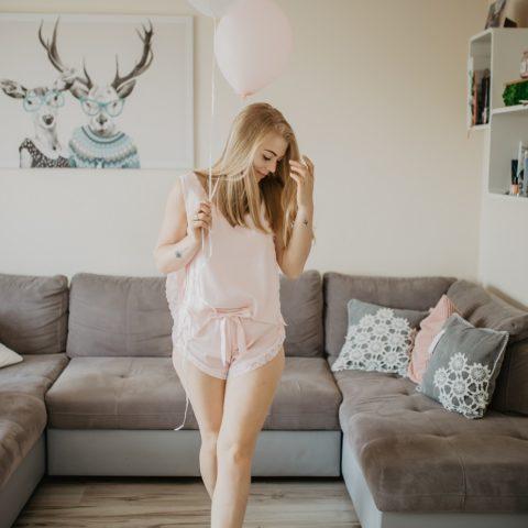 Satynowa piżama Bohomoss – przygotowania ślubne
