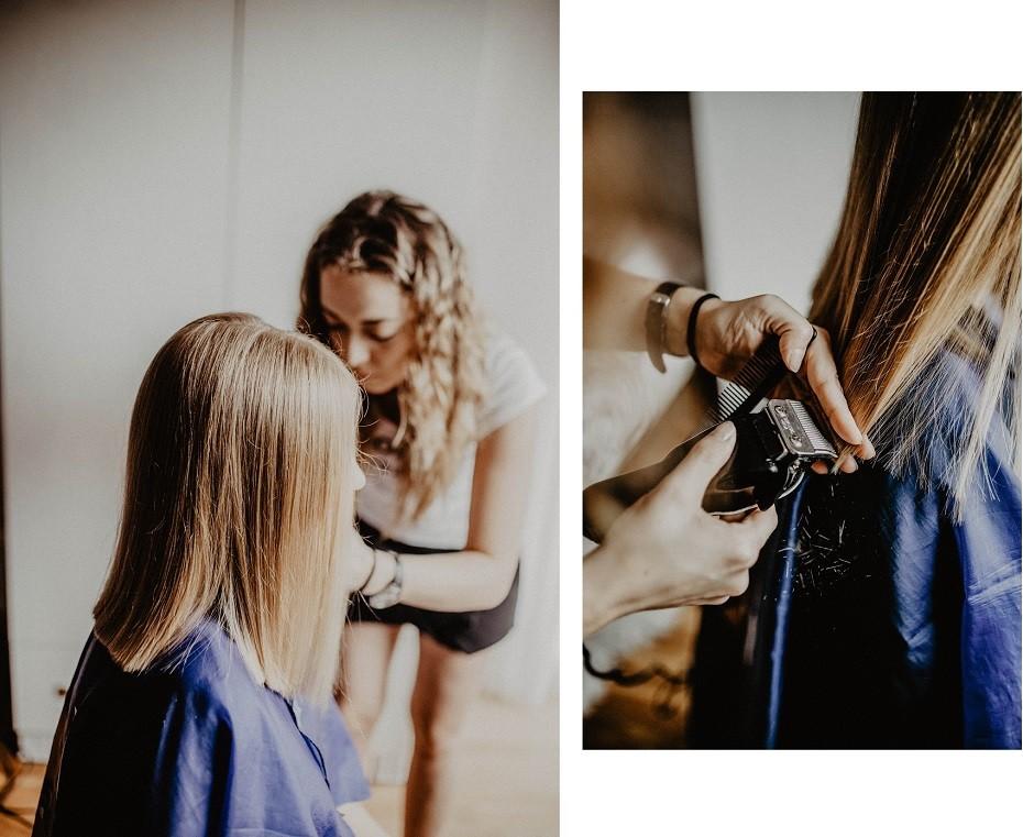 Pielęgnacja włosów blond latem