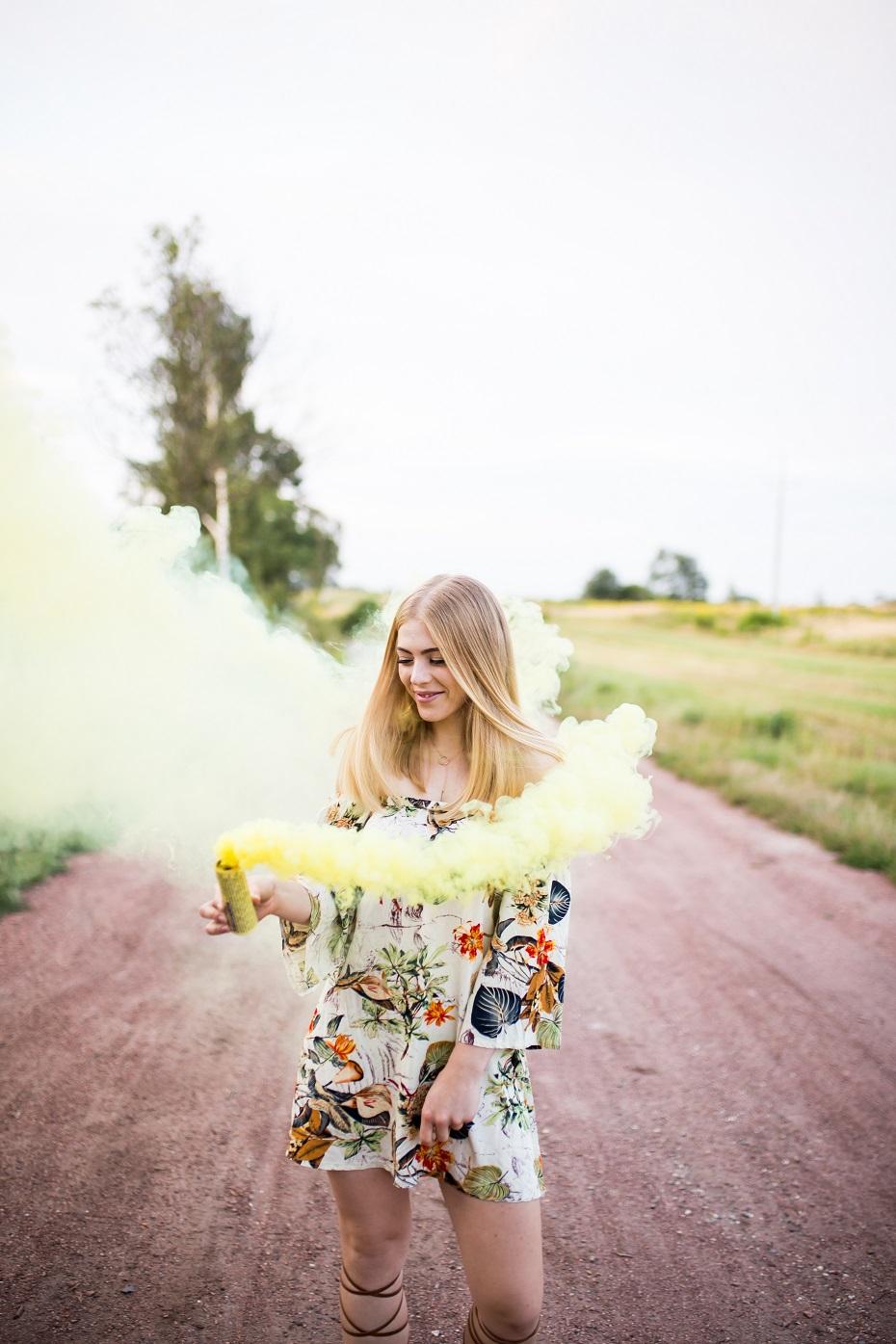 magiczne dymy