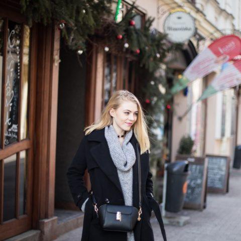 Czarny płaszcz – trendy