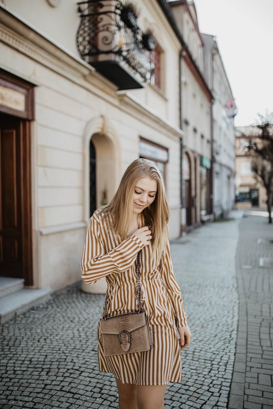 Stylizacja dla blondynki na wiosnę