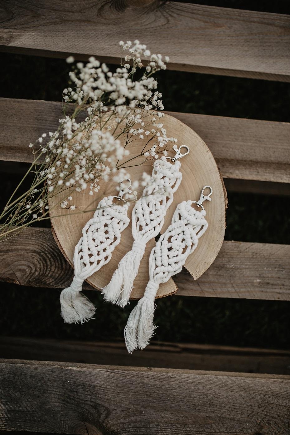 zawieszki na alkohol rustykalne wesele