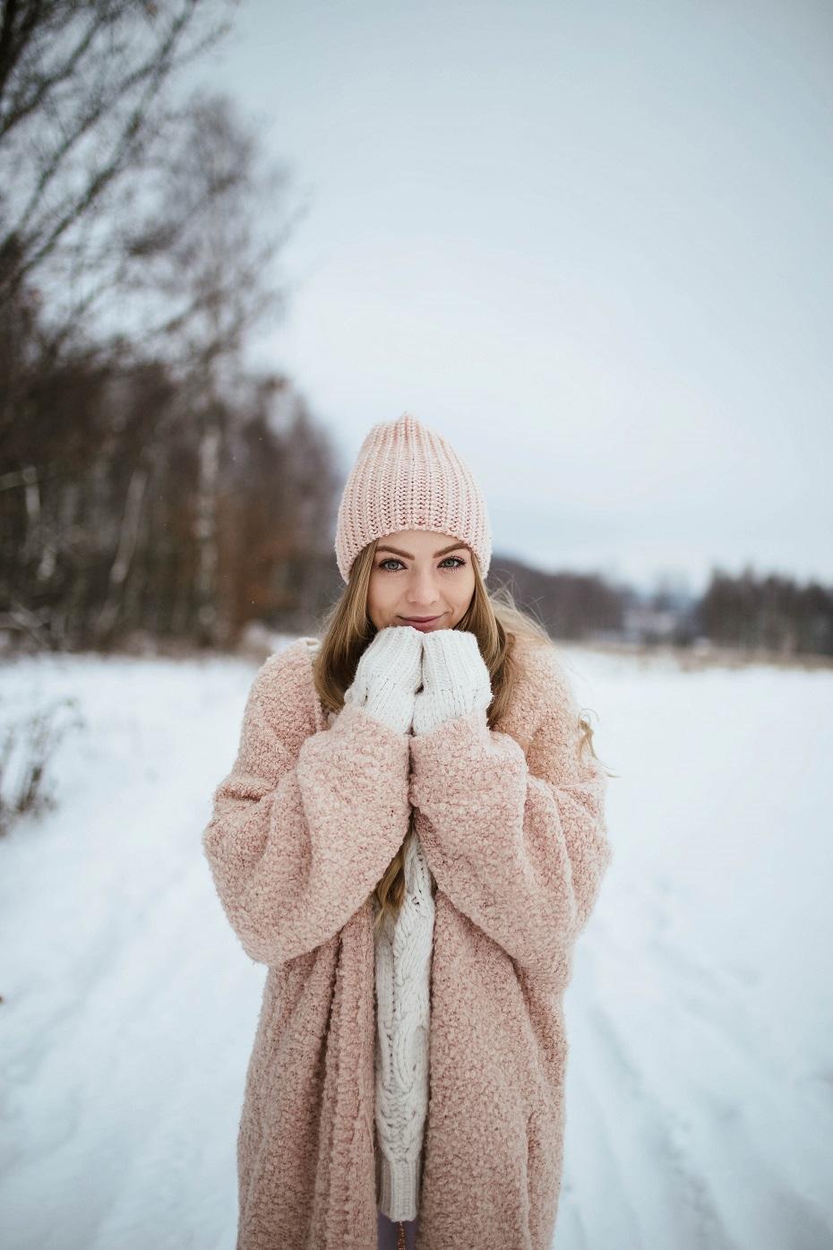 zimowa stylizacja damska