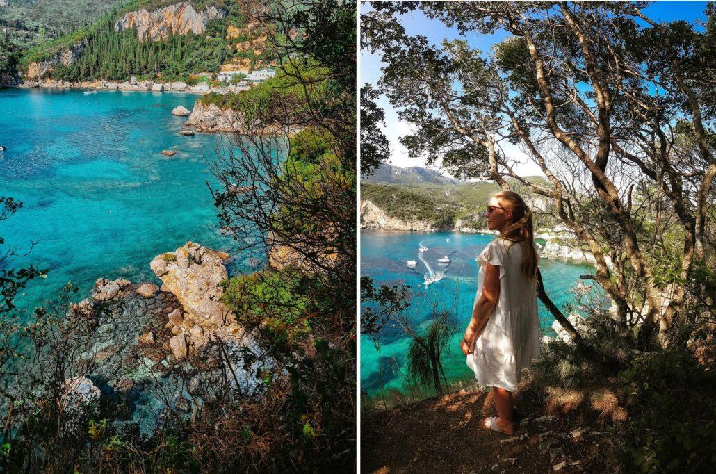Rovinia Beach Corfu grecja