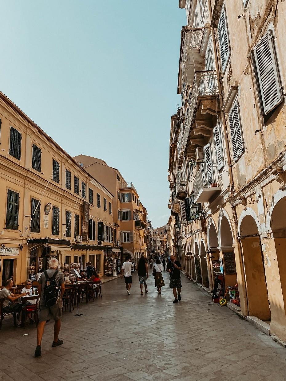 Korfu Grecja miasto