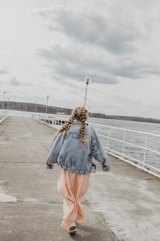 Kurtka wiosenna damska - stylizacja